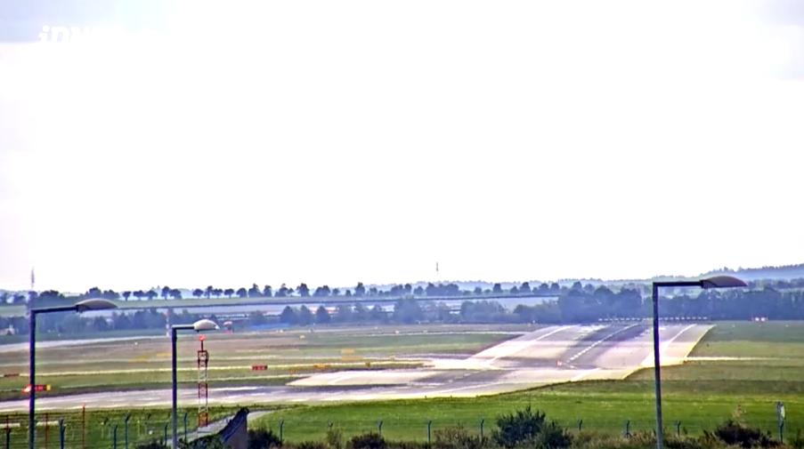 kamera online z lotniska Praga - Czechy