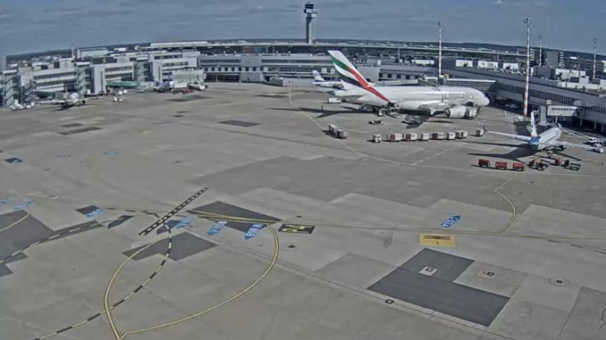kamery lotnisko Dusseldorf Niemcy