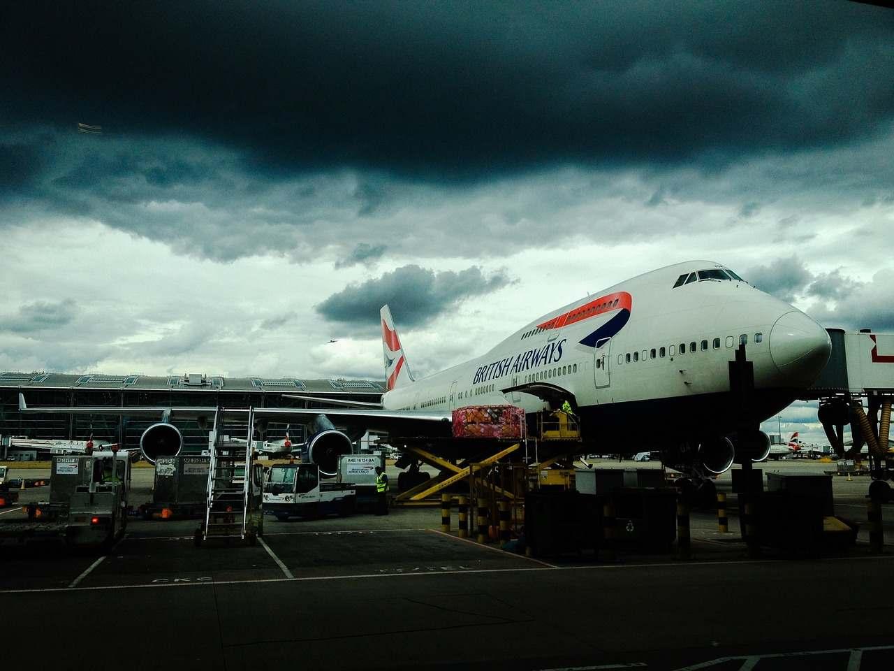 radar burz na lotnisku